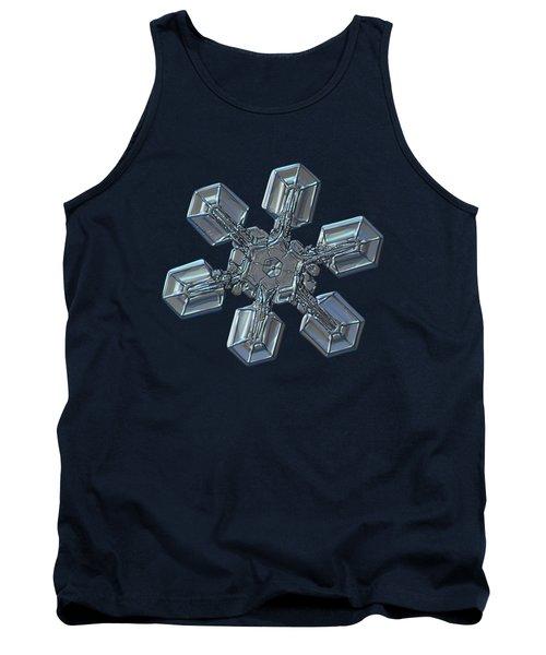 Snowflake Photo - High Voltage Tank Top
