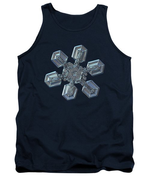 Tank Top featuring the photograph Snowflake Photo - High Voltage by Alexey Kljatov