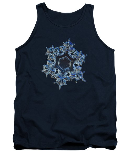 Snowflake Photo - Spark Tank Top by Alexey Kljatov