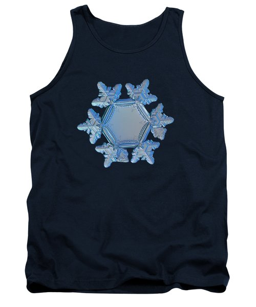 Snowflake Photo - Sunflower Tank Top