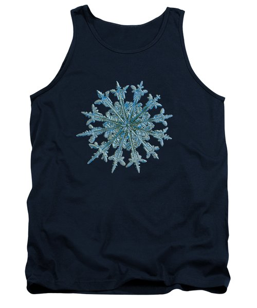Snowflake Photo - Twelve Months Tank Top by Alexey Kljatov
