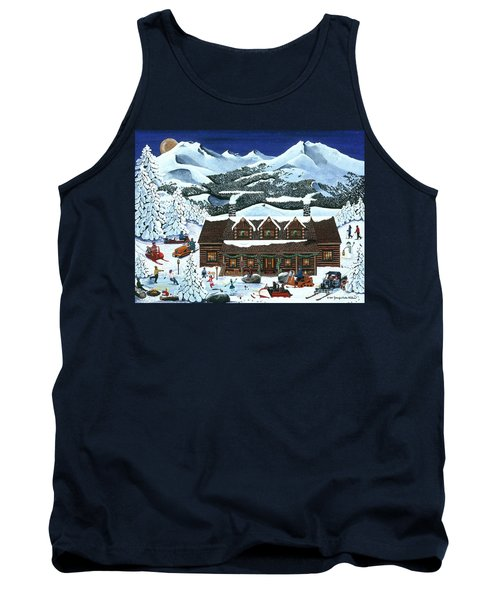 Snowmobile Holiday Tank Top