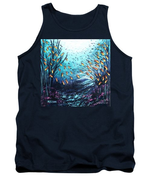 Soldier Fish And Coral  Tank Top