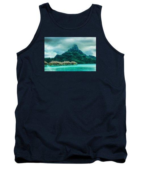 Solitude In Bora Bora Tank Top by Gary Slawsky
