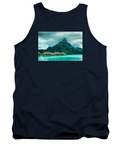 Solitude In Bora Bora Tank Top