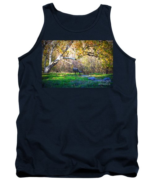 Solitude Under The Sycamore Tank Top