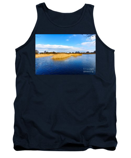 Tank Top featuring the photograph Somerset Levels by Colin Rayner