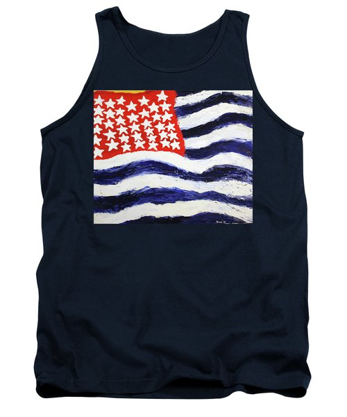 Something's Wrong With America Tank Top by Thomas Blood