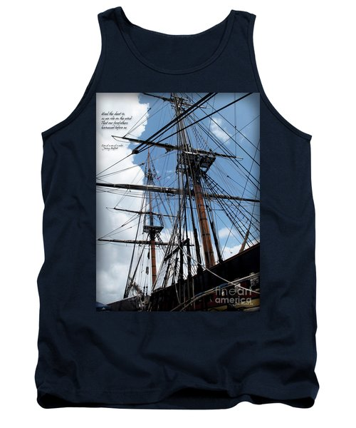 Son Of A Son Of A Sailor Quote - Tribute To The Bounty Tank Top