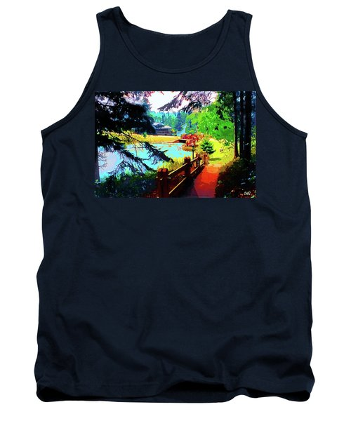 Song Of The Morning Camp Tank Top