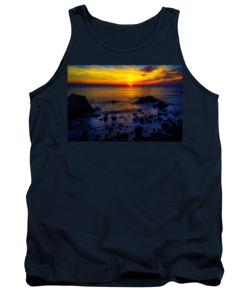Sonoma Coast Sunset Tank Top