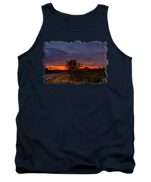 Sonoran Sunset H48 Tank Top by Mark Myhaver