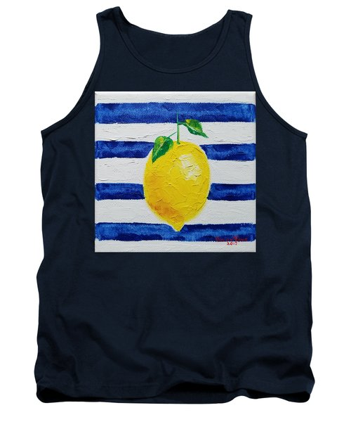 Tank Top featuring the painting Sorrento Lemon by Judith Rhue