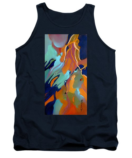 Tank Top featuring the painting Source by Rae Andrews