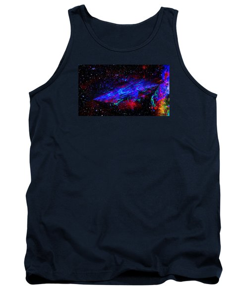 Space-time Continuum Tank Top by Mike Breau