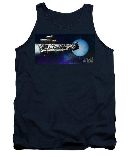 Spaceship To Neptune Tank Top