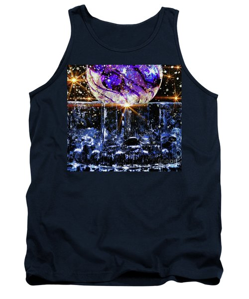 Sparkling Glass Tank Top