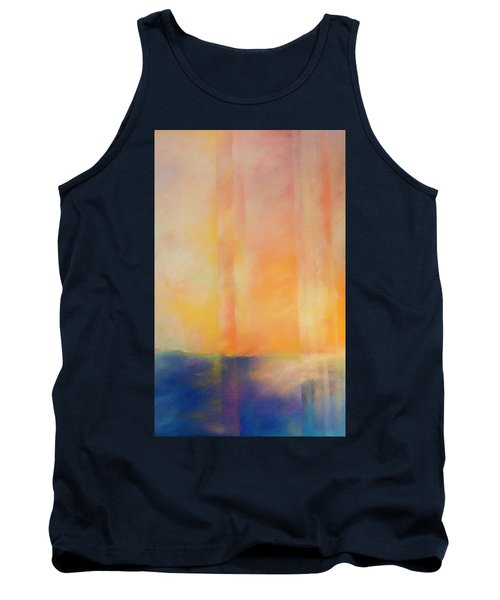 Spectral Sunset Tank Top