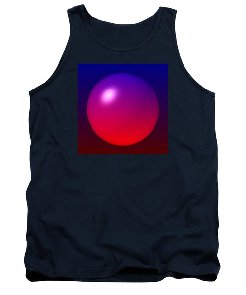 Tank Top featuring the digital art Sphere by Lyle Hatch