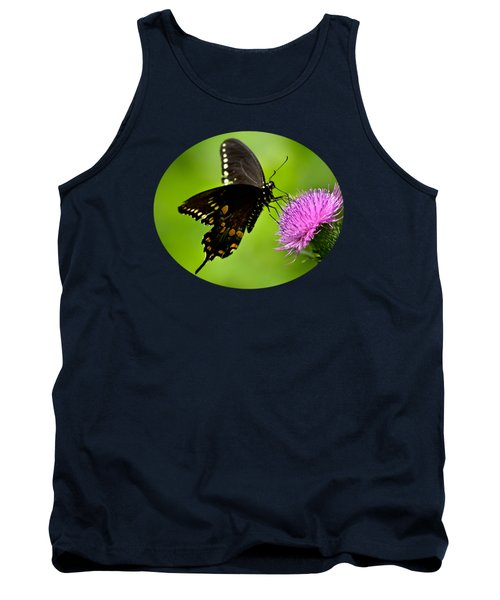 Tank Top featuring the photograph Spicebush Swallowtail Butterfly by Christina Rollo