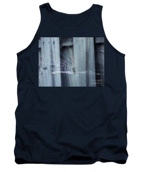 Tank Top featuring the photograph Spider Web by Megan Dirsa-DuBois