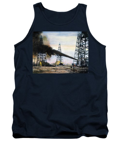 Spindletop Oil Pool, C1906 Tank Top
