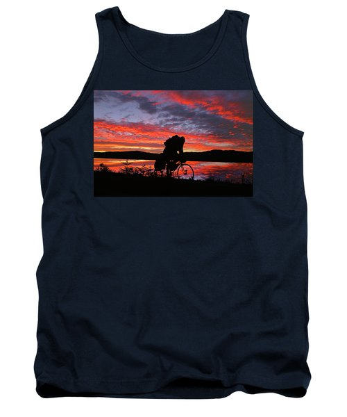 Spinning The Wheels Of Fortune Tank Top