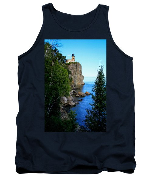Split Rock Lighthouse Tank Top