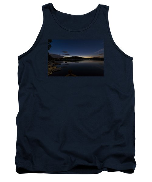 Tank Top featuring the photograph Spofford Lake Dawn by Tom Singleton