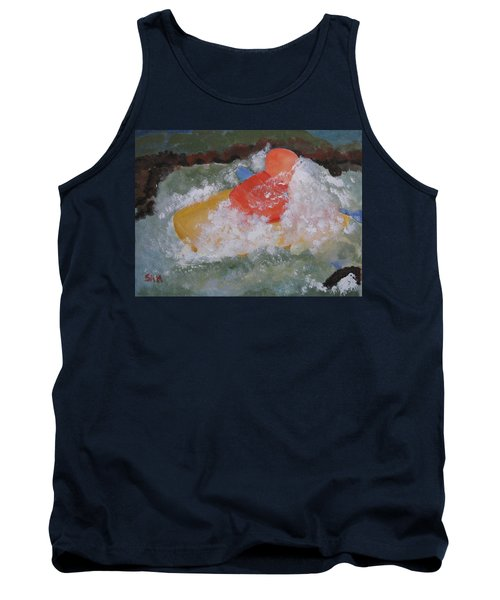Tank Top featuring the painting Spray by Sandy McIntire