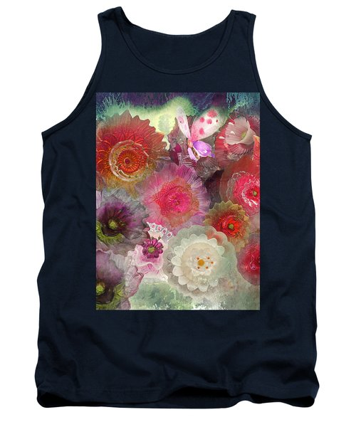 Tank Top featuring the photograph Spring Glass by Jeff Burgess