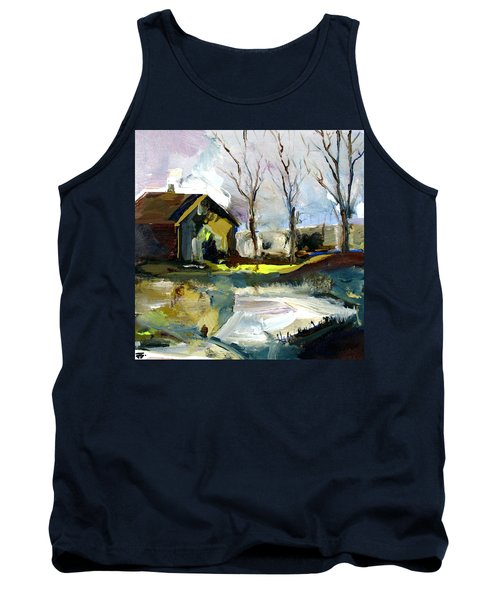 Springtime Barn Tank Top