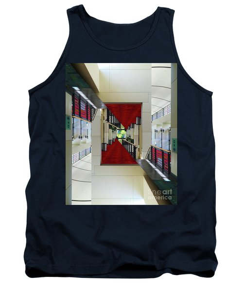 Squares Tank Top by Brian Jones