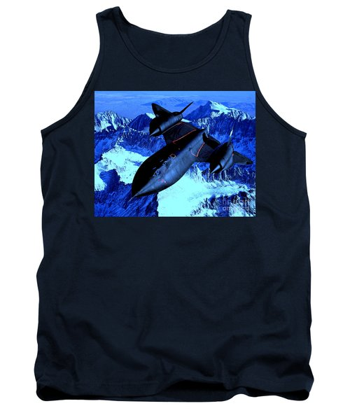 Sr71 Mountain Climber Tank Top by Greg Moores