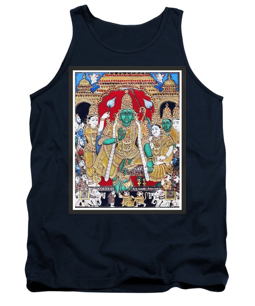 Sri Ramar Pattabhishekam Tank Top