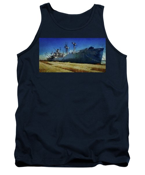 Ss Lane Victory Tank Top by Joseph Hollingsworth