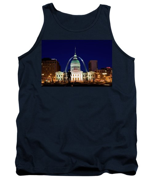 Tank Top featuring the photograph St. Louis by Steve Stuller