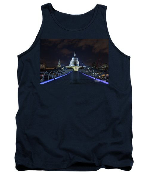 St Paul's Cathedral And The Millennium Bridge Tank Top