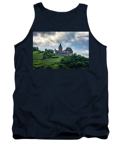 Tank Top featuring the photograph Stahleck Castle by David Morefield