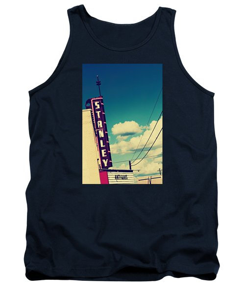 Tank Top featuring the photograph Stanley by Trish Mistric