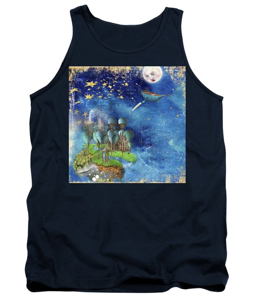 Starfishing In A Mystical Land Tank Top