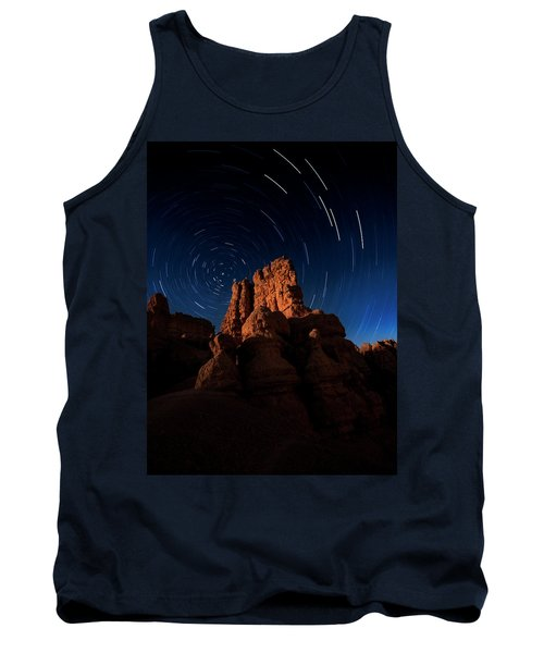 Tank Top featuring the photograph Stary Trails At Red Canyon by Edgars Erglis
