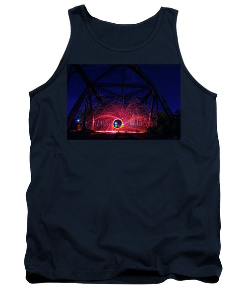 Steel Wool Spinner Tank Top
