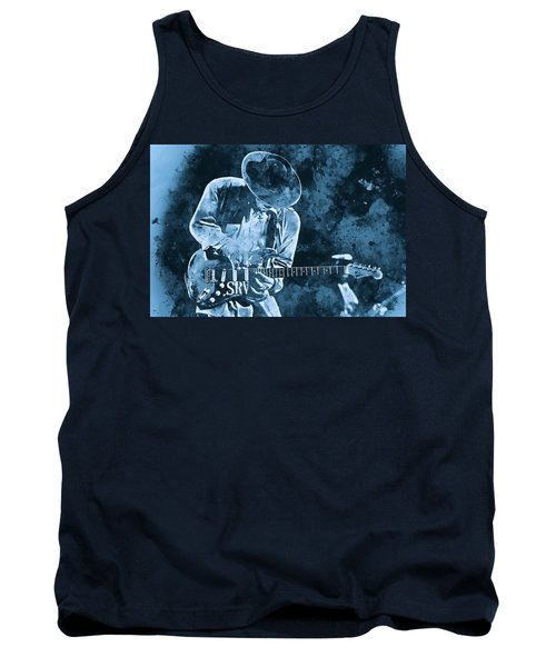 Stevie Ray Vaughan - 12 Tank Top
