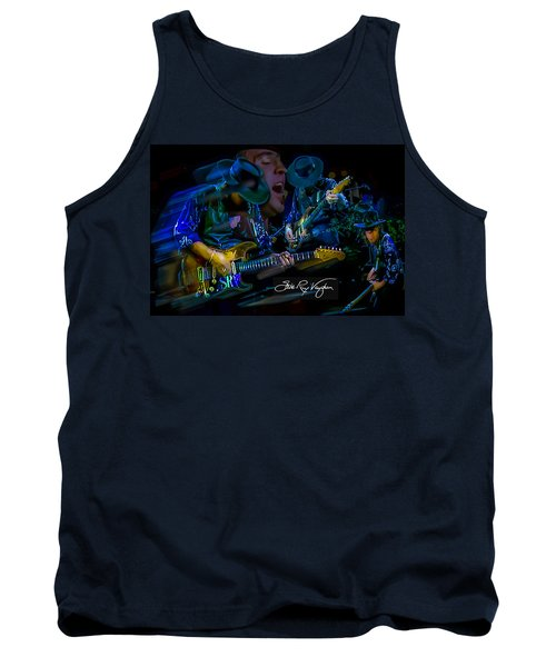 Stevie Ray Vaughan - Double Trouble Tank Top