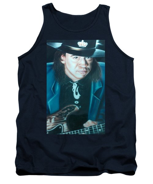 Stevie Ray Vaughn Tank Top by Darren Robinson