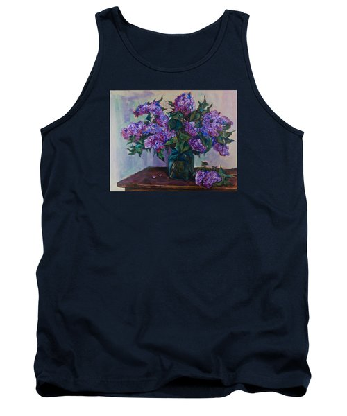 Still Life With Lilac  Tank Top