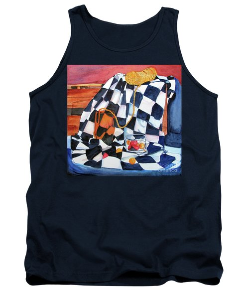 Still Life With Squares Tank Top