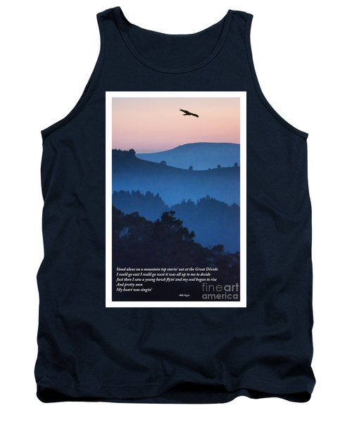 Stood Alone On The Mountain Top Tank Top