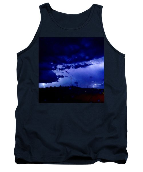 Storm On Farmer's Turnpike Tank Top